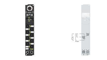 IP23x0-Bxxx, 8 mm, snap type