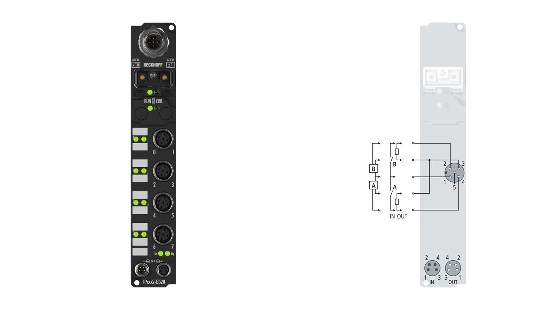 IP2322-B520 | Fieldbus Box modules for DeviceNet