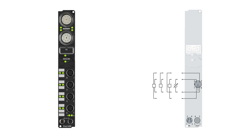 IP3112-B400 | Fieldbus Box modules for Interbus