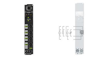 IP3112-B520   Fieldbus Box, 4-channel analog input, DeviceNet, current, 0/4…20mA, 16bit, differential, M12