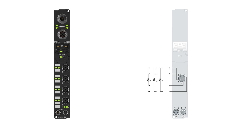 IP3202-B310 | Feldbus-Box-Module für PROFIBUS