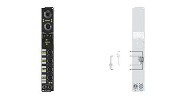 IP3312-B318 | Feldbus-Box-Module für PROFIBUS