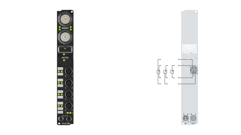 IP4132-B400 | Fieldbus Box modules for Interbus