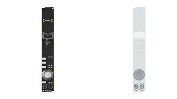 IP5009-B200 | Fieldbus Box, 1-channel encoder interface, Lightbus, SSI, M23