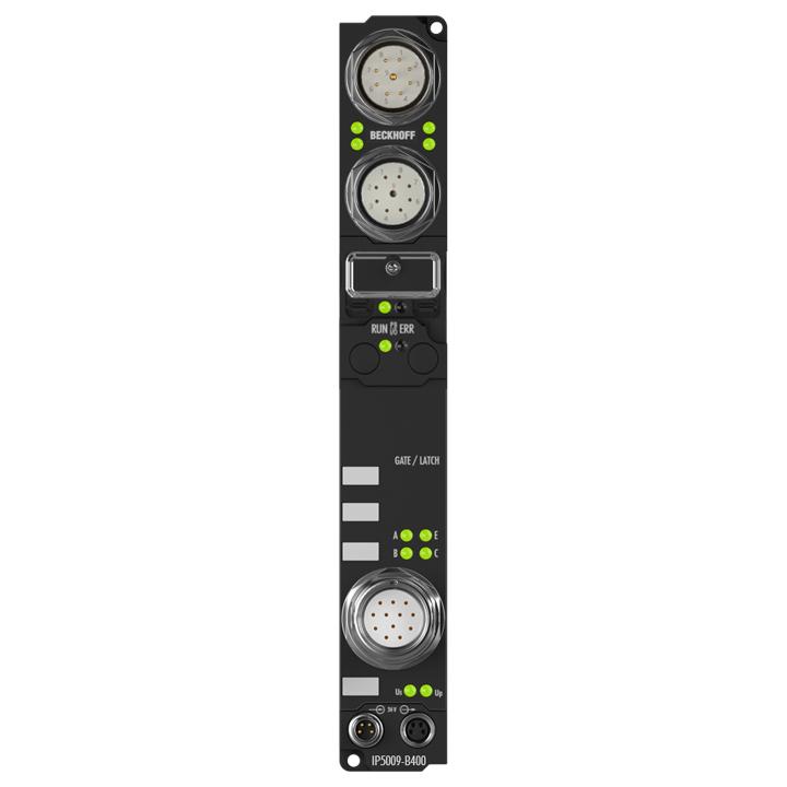 IP5009-B400 | Fieldbus Box, 1-channel encoder interface, Interbus, SSI, M23