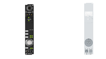 IP5009-B518   Fieldbus Box, 1-channel encoder interface, CANopen, SSI, M23, integrated T-connector