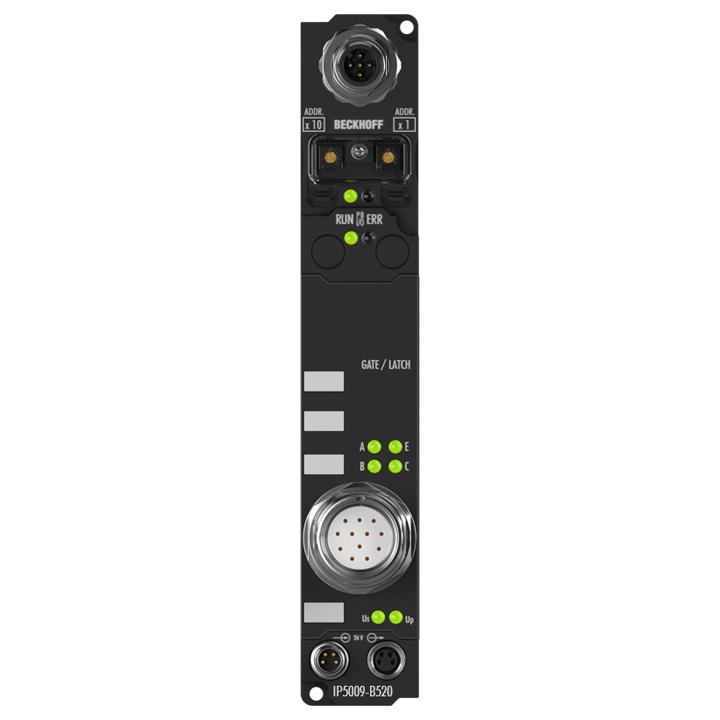 IP5009-B520 | Fieldbus Box, 1-channel encoder interface, DeviceNet, SSI, M23