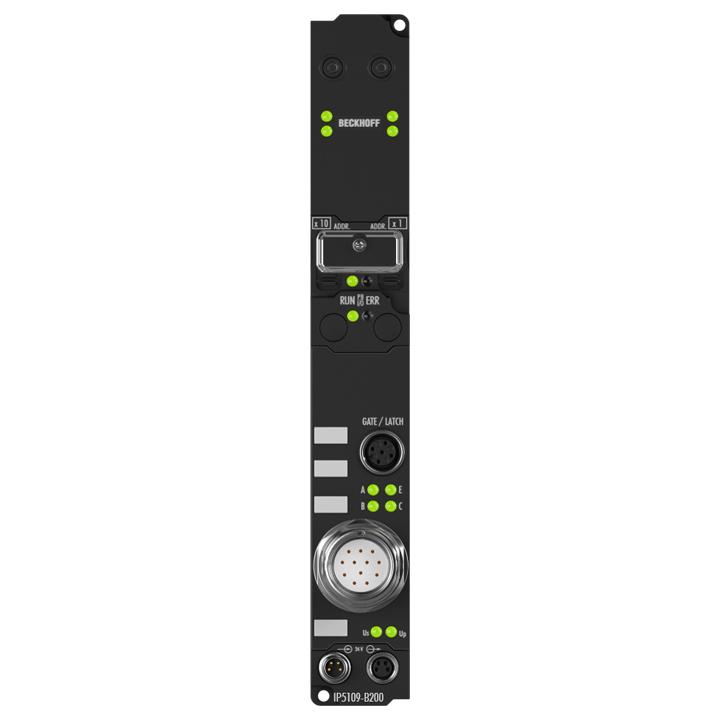 IP5109-B200 | Fieldbus Box, 1-channel encoder interface, Lightbus, incremental, 5VDC (DIFFRS422,TTL), 1MHz, M23
