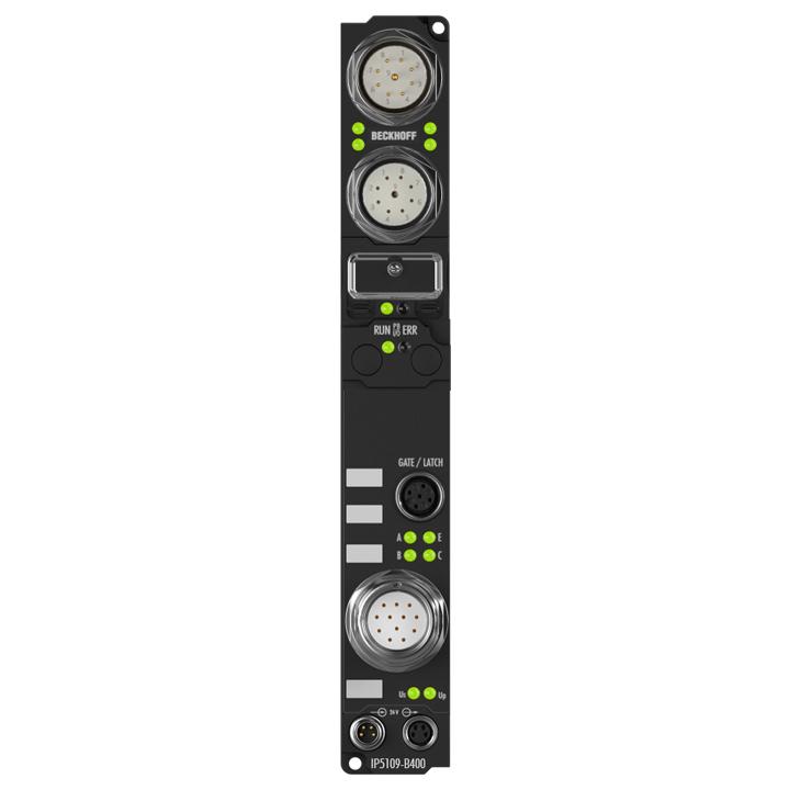 IP5109-B400 | Fieldbus Box, 1-channel encoder interface, Interbus, incremental, 5VDC (DIFFRS422,TTL), 1MHz, M23