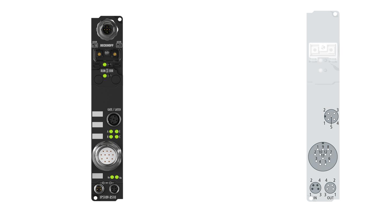 IP5109-B510 | Fieldbus Box, 1-channel encoder interface, CANopen, incremental, 5VDC (DIFFRS422,TTL), 1MHz, M23