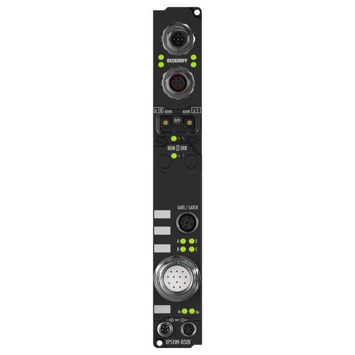 IP5109-B528 | Fieldbus Box, 1-channel encoder interface, DeviceNet, incremental, 5VDC (DIFFRS422,TTL), 1MHz, M23, integrated T-connector