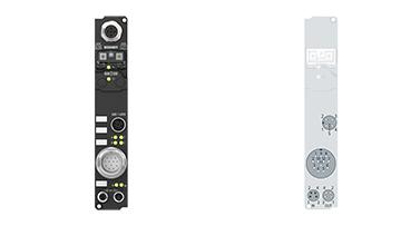 IP5109-B810 | Fieldbus Box, 1-channel encoder interface, RS232, incremental, 5VDC (DIFFRS422,TTL), 1MHz, M23