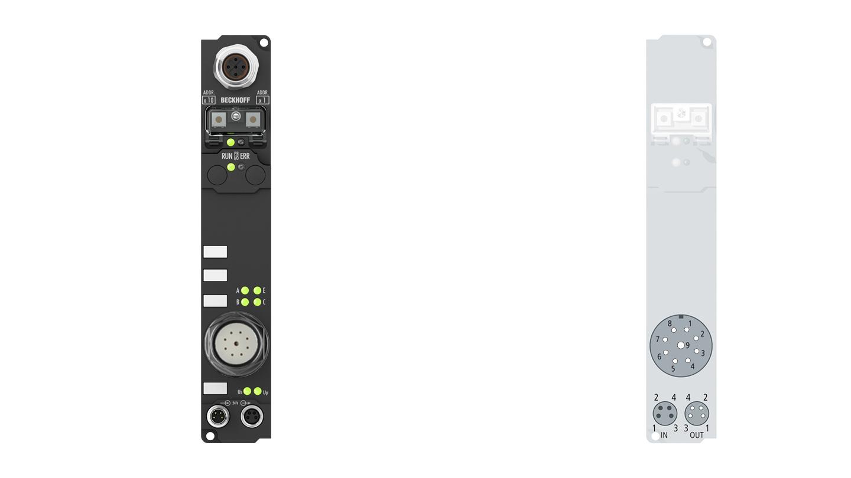 IP5209-B800-1000 | Fieldbus Box, 1-channel encoder interface, RS485, SinCos, 11µApp, M23