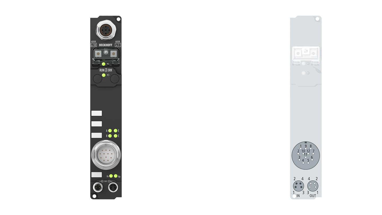 IP5209-B810 | Fieldbus Box, 1-channel encoder interface, RS232, SinCos, 1Vpp, M23
