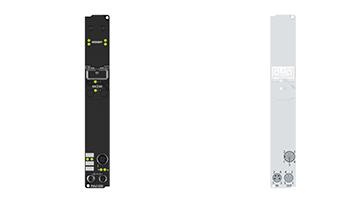 IP6002-B200 | Fieldbus Box, 2-channel communication interface, Lightbus, serial, RS232, M12