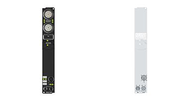 IP6002-B400 | Fieldbus Box, 2-channel communication interface, Interbus, serial, RS232, M12
