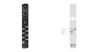 IP1000-B528 | Feldbus-Box-Module für DeviceNet