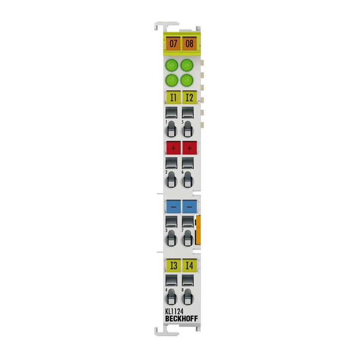 KL1124 | 4-channel digital input terminal 5VDC