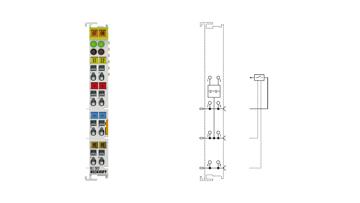 KL1302 | 2-Kanal-Digital-Eingangsklemme 24VDC für Typ-2-Sensoren