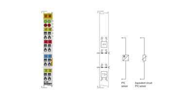 KL1382 | 2-Kanal-Digital-Eingangsklemme Thermistor