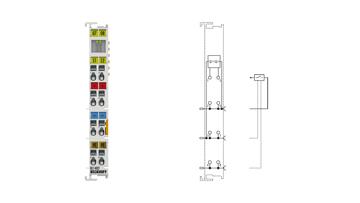 KL1402 | 2-channel digital input terminal 24VDC, type 3