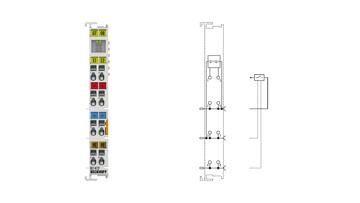 KL1412 | 2-channel digital input terminal 24VDC, type 3