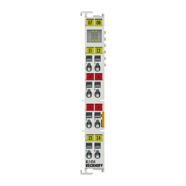KL1434 | 4-channel digital input terminal 24VDC