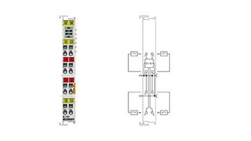 KL1704 | Bus Terminal, 4-channel digital input, 120…230VAC, 10ms