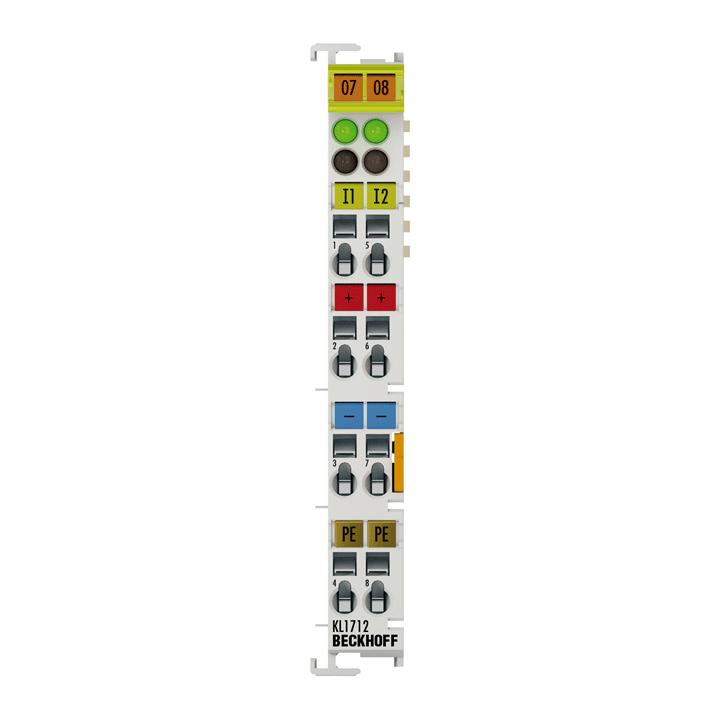 KL1712-0060 | Bus Terminal, 2-channel digital input, 60VDC, 10ms