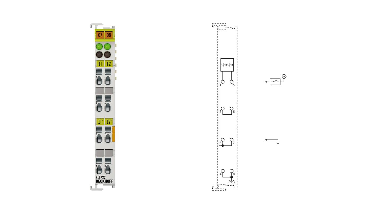KL1722 | 2-channel digital input terminal 120/230 V AC