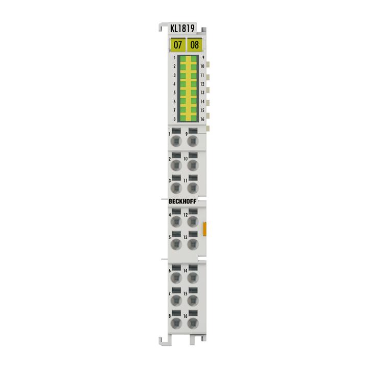 KL1819 | HD Bus Terminal, 16-channel digital input 24VDC