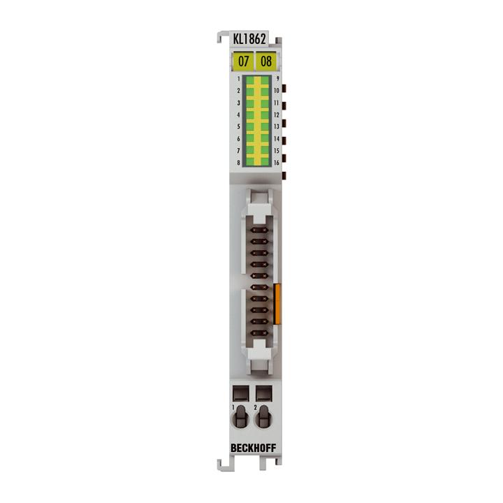 KL1862 | 16-Kanal-Digital-Eingangsklemme 24VDC, Typ 3, Flachbandkabelanschluss