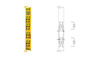 KL1904 | Bus Terminal, 4-channel digital input, 24VDC, TwinSAFE
