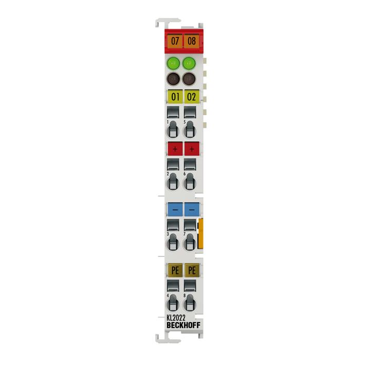 KL2022 | Bus Terminal, 2-channel digital output, 24VDC, 2A
