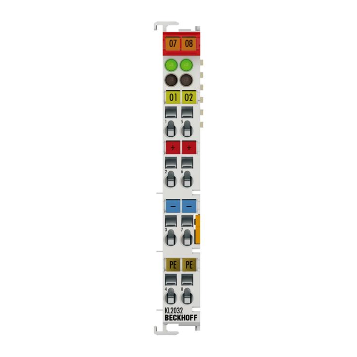 KL2032 | 2-Kanal-Digital-Ausgangsklemme 24 V DC