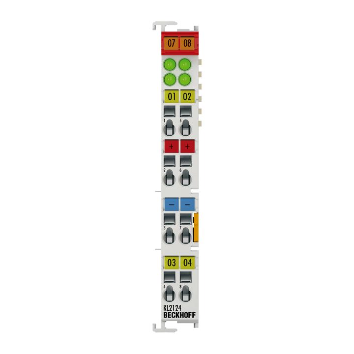 KL2124   Bus Terminal, 4-channel digital output, 5VDC, 20mA