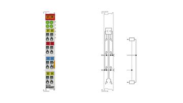 KL2134 | 4-channel digital output terminal 24 V DC