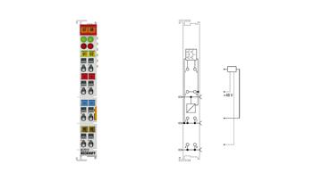 KL2212 | 2-channel digital output terminal 24 V DC with diagnostics