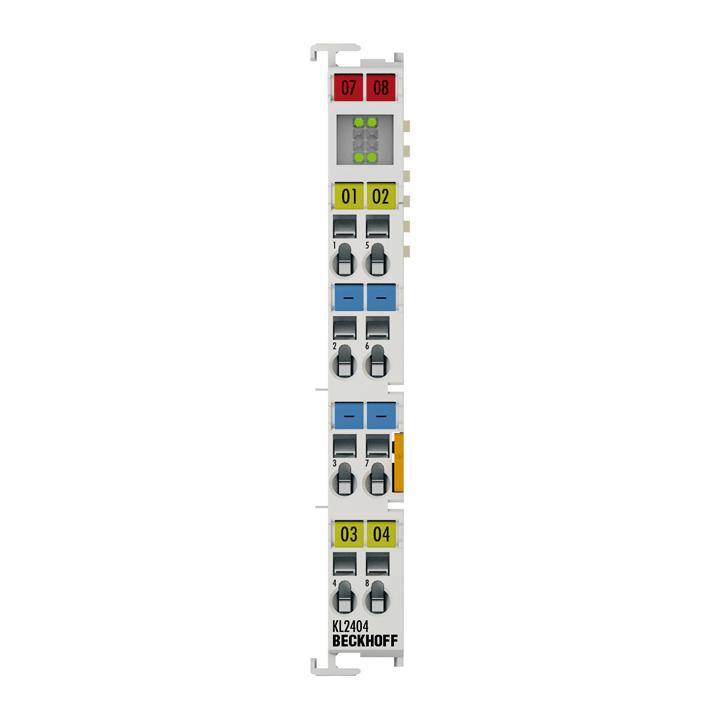 KL2404 | 4-Kanal-Digital-Ausgangsklemme 24 V DC