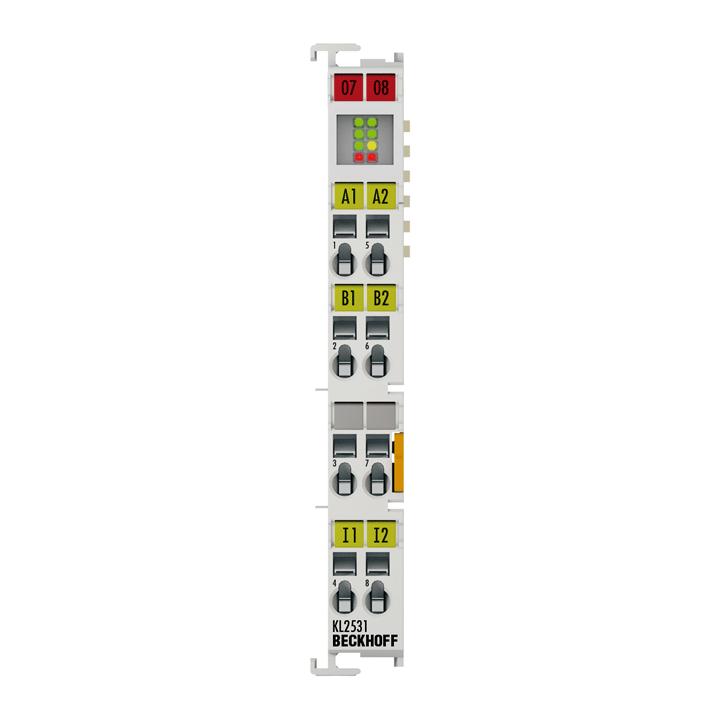 KL2531 | Stepper motor terminal 24 V DC, 1.5 A
