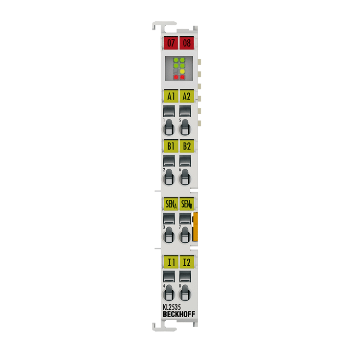 KL2535 | Bus Terminal, 2-channel PWM output, 24VDC, 1A, current-controlled