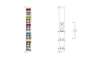 KL2701 | Bus Terminal, 1-channel solid state relay output, 0…230VAC/DC, 3A
