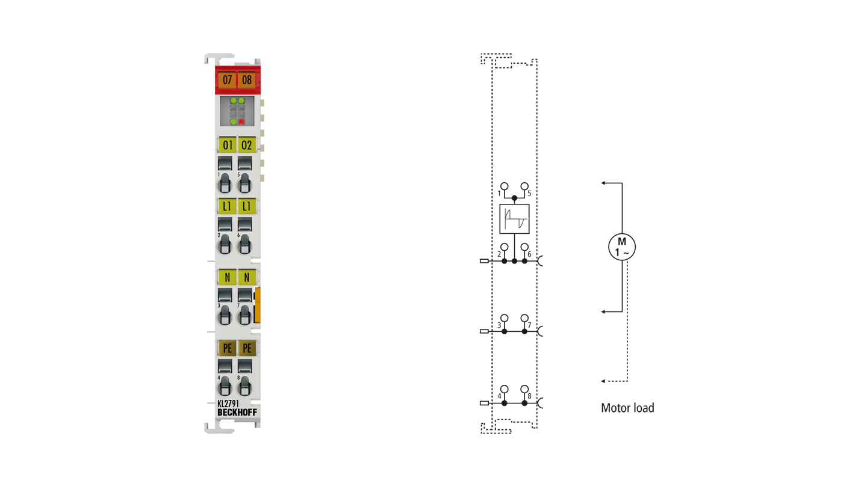 KL2791 | 1-Kanal-AC-Motor-Drehzahlsteller 230VAC, 200VA