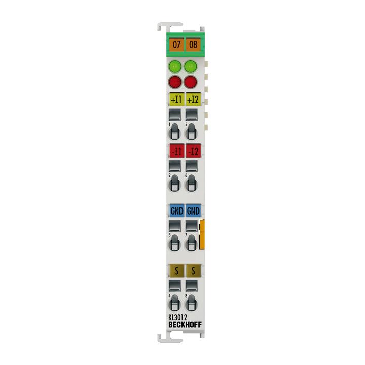 KL3012 | 2-Kanal-Analog-Eingangsklemme 0…20mA