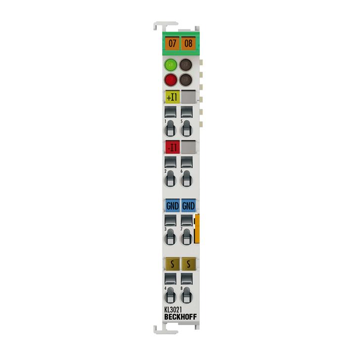 KL3021 | 1-Kanal-Analog-Eingangsklemme 4…20mA
