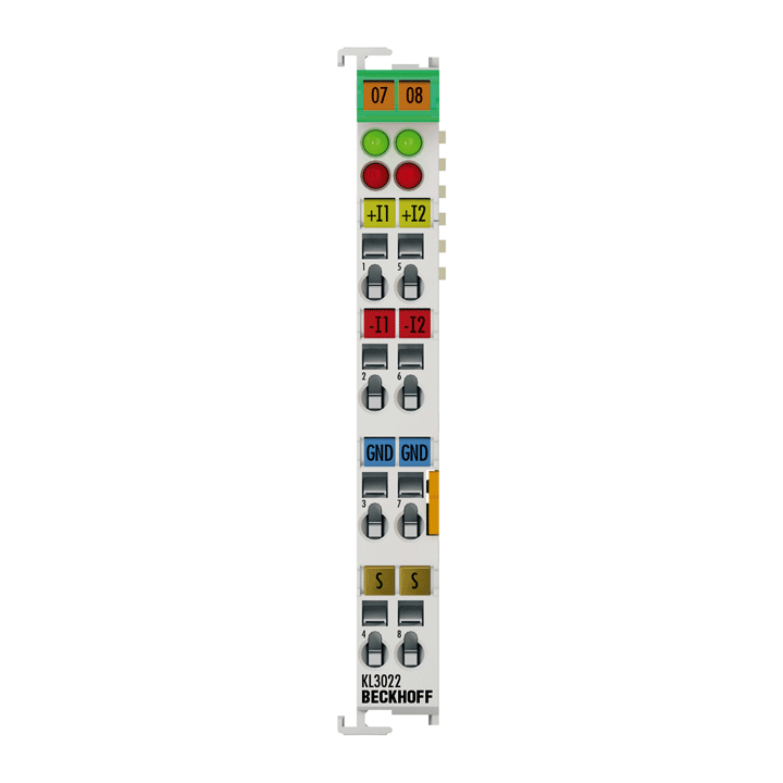 KL3022 | 2-Kanal-Analog-Eingangsklemme 4…20mA