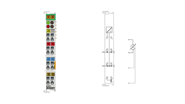 KL3051 | 1-Kanal-Analog-Einspeiseklemme 4…20 mA