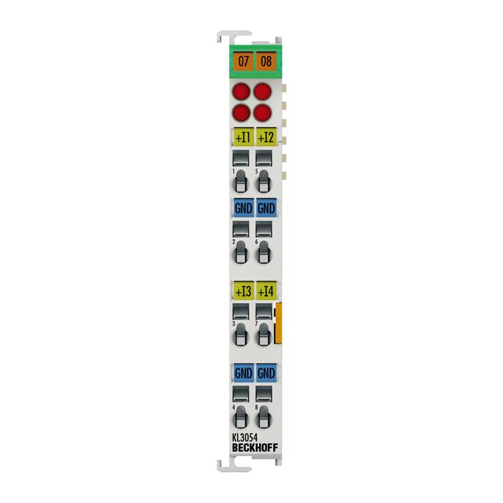 KL3054 | 4-Kanal-Analog-Eingangsklemme 4…20 mA