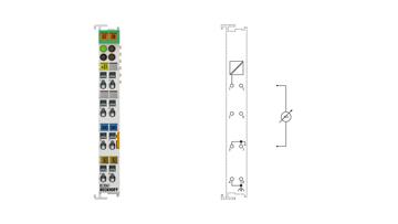 KL3061 | Bus Terminal, 1-channel analog input, voltage, 0…10V, 12bit, single-ended