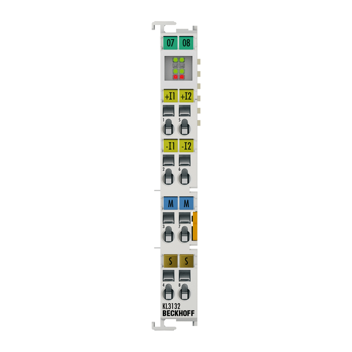 KL3132 | 2-channel analog input terminal +10…-10V (accuracy 0.05%)